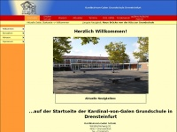 kvg-schule.drensteinfurt.de Webseite Vorschau