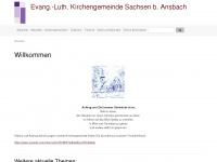 kirchengemeinde-sachsen.de Webseite Vorschau