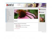 xund-si.ch Webseite Vorschau
