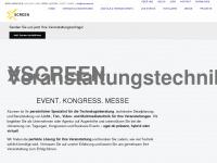 xscreen.de Webseite Vorschau
