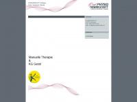 physiowerkstatt.de Webseite Vorschau
