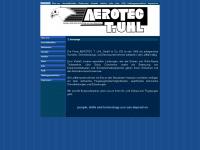 aerotecuhl.com Webseite Vorschau