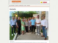 cdu-neuffener-tal.de Webseite Vorschau