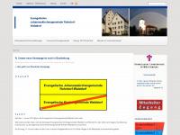 kirchengemeinde-walddorf.de Webseite Vorschau