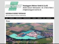 kiesbaggerei-weimar.de Webseite Vorschau