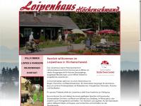 loipenhaus-hoechenschwand.de Webseite Vorschau