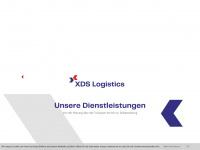 xds-logistics.com Webseite Vorschau