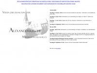 Alexanderkirche-marbach.de
