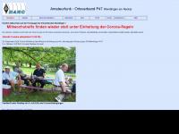 amateurfunk.wendlingen.net Webseite Vorschau