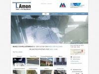 amon-metallbau.de Webseite Vorschau