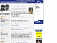 amnesty-kinderrechte.de Webseite Vorschau