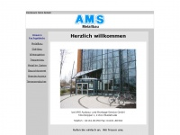 ams-metallbau.de Webseite Vorschau