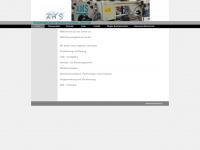 ams-strg.de Webseite Vorschau