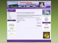 kaninchen-auggen.de Webseite Vorschau