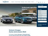 scherer-gruppe.de Webseite Vorschau
