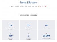 lorenz-kollegen.com Webseite Vorschau