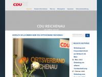 cdu-reichenau.de Webseite Vorschau