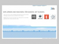 2dc.de Webseite Vorschau