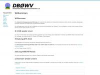 db0wv.de Webseite Vorschau