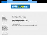 amazoonas.ch Webseite Vorschau