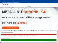 3metall.de Webseite Vorschau