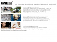 hanseshot.com Webseite Vorschau