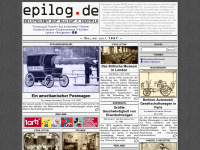 epilog.de Webseite Vorschau