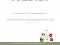 ayurveda.de Webseite Vorschau