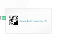 kinderkrebshilfe-koenigswinkel.de Webseite Vorschau