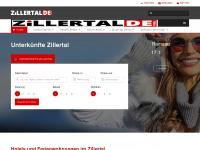 zillertal.de Webseite Vorschau