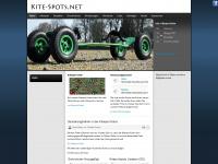 kite-spots.net Webseite Vorschau
