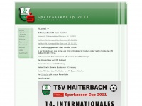 u14.tsv-haiterbach.de Webseite Vorschau