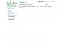 zufusszurschule.de Webseite Vorschau