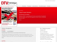 dtvtabak.de Webseite Vorschau