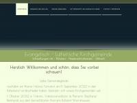 kirche-schwallungen.de Webseite Vorschau