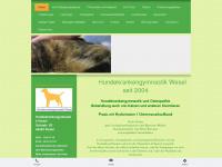 hundekrankengymnastik-wesel.de