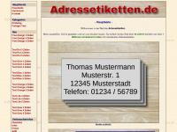 Adressetiketten.de