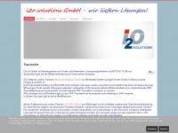 i2o-solutions.de Webseite Vorschau