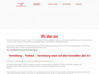 immobilien-kuehn.de Webseite Vorschau