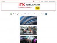 industrie-technik-kling.de Webseite Vorschau