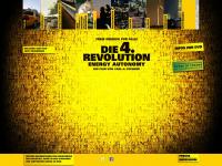 4-revolution.de Webseite Vorschau