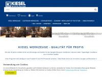 kiesel-werkzeuge.de Webseite Vorschau