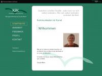 kik-coaching.de Webseite Vorschau