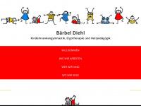 kindertherapie.de Webseite Vorschau