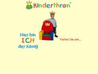 kinderthron.de Webseite Vorschau