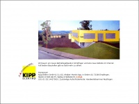kipp-elektro.de Webseite Vorschau