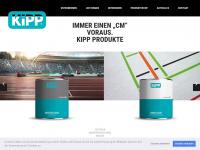 kipp-markierungen.de Webseite Vorschau