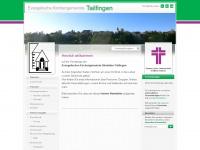 kirche-tailfingen.de Webseite Vorschau