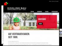 kisslingbau.de Webseite Vorschau