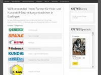 kittel-maschinen.de Webseite Vorschau